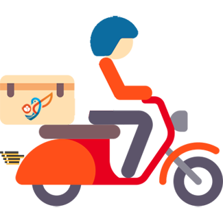FollowApp Medicine delivery person